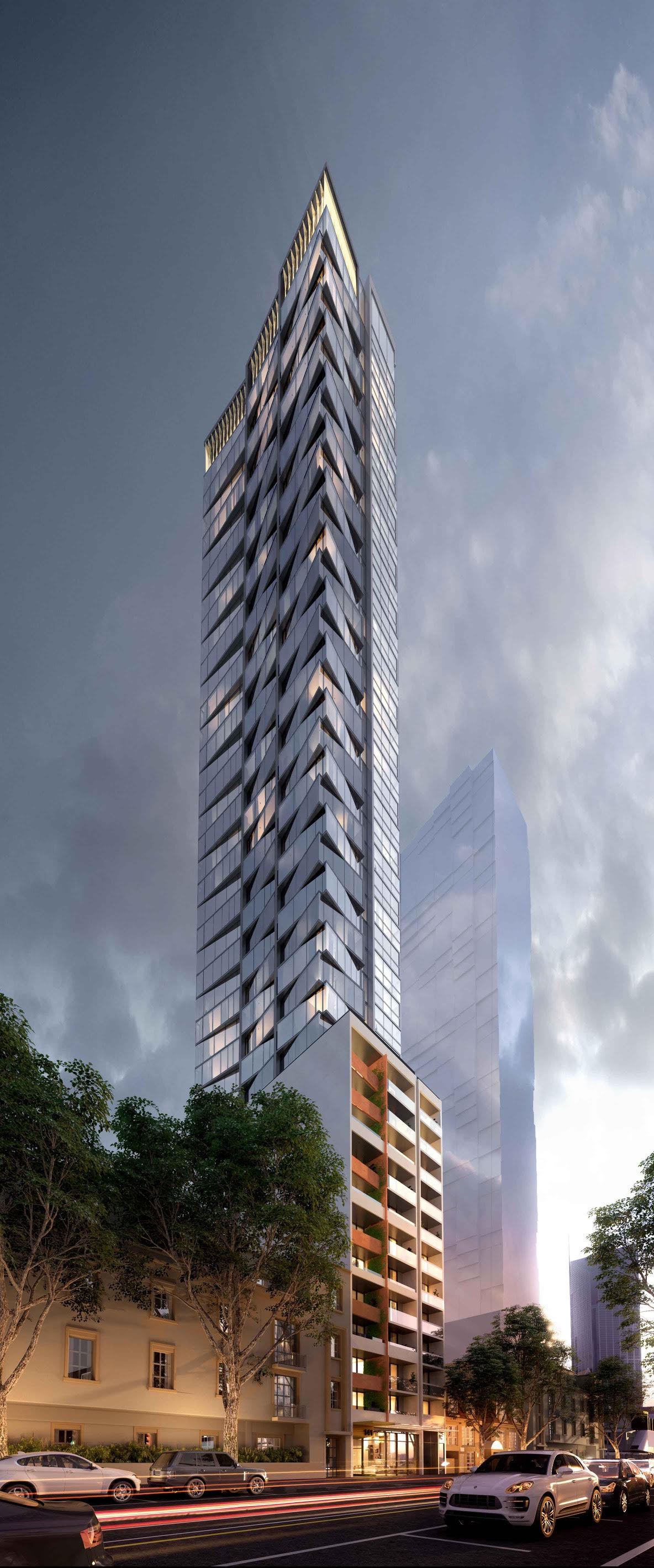 CBD | 141-149 Latrobe Street | The Peak | 44L | 144m | Residential