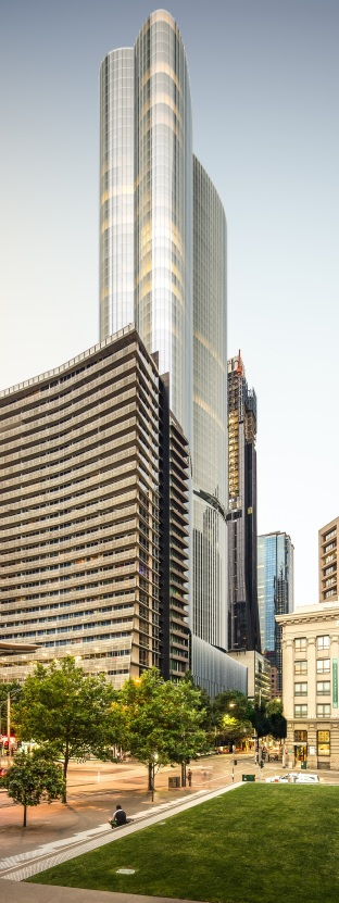 MELBOURNE | 600 Collins Street | 54L | 186m | Mixed Use